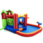 Kids Play Inflatable Slide Bouncer Water Park Bounce House w Splash Pool Gift