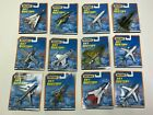 Vintage Matchbox Sky Busters Commercial  Military Aircraft Sealed Set Of 12