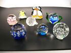 Paperweights From Estate Collection Antique Vintage Lot of 8