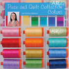THREAD Aurifil PIECE AND QUILT COLLECTION COLORS 12 1422 yd spools 50 wt