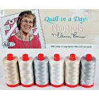 THREAD Auriful QUILT IN A DAY NEUTRALS COLLECTION 6 Spools 50wt 1422 yds ea