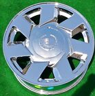 New Chrome Cadillac Wheels Deville DTS 17 Set 4 OEM Factory Spec STS CTS Seville