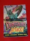 1988 Topps Dinosaurs Attack Trading Card Box (48 Packs)