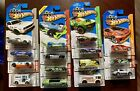 Hot Wheels 2013 Treasure Hunts Complete Set Of 15 Cards Decent Condition