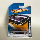 Hot Wheels 73 Ford Falcon XB Super TH Muscle Mania Ford 12 W7