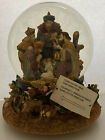 Kirkland Signature Musical Water Globe Snow Nativity Scene Item 109619
