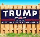 Election Stolen By Deep State Trump 2020 Advertising Vinyl Banner Flag Sign