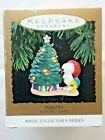 Hallmark Peanuts Blinking Lights Magic Keepsake Ornament Collectors Series 1993