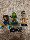 LOT OF 3 SIDESHOW LITTLE BIG HEADS UNIVERSAL MONSTERS FIGURES Creature Wolfman