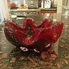 Beautiful Murano Ruby Red Art Glass