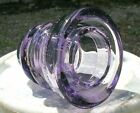 PRIMO PURPLE PASSION Glass Insulator NOT Stained or Dyed  She Ships FREE