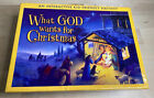 WHAT GOD WANTS FOR CHRISTMAS By Familylife Publishing Nativity For Children