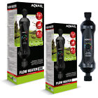 Aquael Flow Inline Heater External Filter Thermostat Aquarium Fish Tank