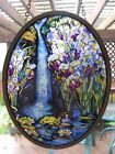 Louis C Tiffany Stained Glass Waterfall By Glassmasters 1989