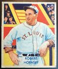 Top 10 Rogers Hornsby Baseball Cards 15