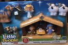 New Fisher Price Little People Childrens Nativity Set 11 Figures w Manger