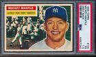 1956 Topps Mickey Mantle #135 PSA 1.5 ++ Centered, retains good visual appeal