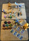 17 Vintage Digimon Bandai Action figures Toys mixed lot 1997-2001 - 8 Digivices