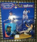 Dave Justice Cleveland Indians 1998 Starting Lineup World Series Baseball Braves