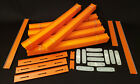 Hot Wheels Lot Of 65+ Track Builder Pieces 58 21 Straight Track  Connectors