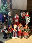 Lot Of 10 Christmas Carolers