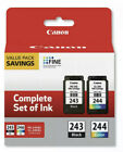 Genuine Canon PG 243 Black and CL 244 Color Ink Cartridge FAST SHIPPING