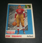 Jim Thorpe Cards and Autograph Guide 8