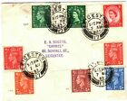 GB Cover KGVI QEII Cylinder Numbers RELIGION LABEL Reverse Leicester 1953 PB193