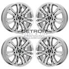 18 LINCOLN MKZ PVD BRIGHT CHROME WHEELS H RIMS FACTORY OEM 3952 EXCHANGE 201