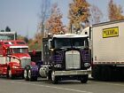 1 64 DCP BLACK CHERRY PURPLE GOLD KENWORTH K100 W 100 SLEEPER