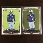 2014 Topps Chrome Football Variation Short Prints Guide 137