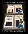 Todd Gurley (2) 2015 Playbooks Gold & Silver Relic Auto RC's 30 99 & 030 199 1 1
