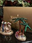 Waterford Holiday Heirlooms Nativity Camel  Large Palm Tree 124731 Hanukkah NIB