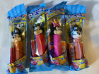 NIP (Lot 4) 3 Mickey Mouse & 1 Minnie Mouse Pez Candy Dispensers     C
