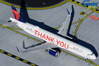 Delta Air Lines A321 Thank You Gemini Jets GJDAL1927 Scale 1400 IN STOCK