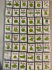 Sizzix Little Green Dies Mixed Lot of 96 Total Dies pre owned sellers lot dups