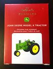 John Deere Model A Tractor ~ 2020 Hallmark Keepsake Christmas Ornament NIB