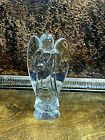Baccarat Crystal Nativity Angel w Clear Wings 6 Made in France