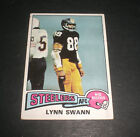 Lynn Swann Cards, Rookie Card and Autographed Memorabilia Guide 13