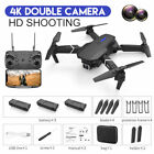 UK Foldable RC Drone With 4K HD Camera WIFI FPV Selfie Quadcopter +3 Battery
