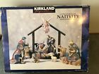 Kirkland Signature 12 Piece Porcelain Nativity Set Complete 75177