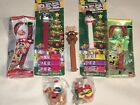 Christmas Candy Cane And Pez Lot Of 7 Items Mickey Mouse Spongebob Rudolph BNIP