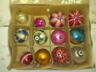 antique christmas ornaments glass VERY OLD