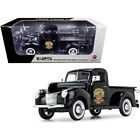 1940 Ford Pickup Truck Black The Busted Knuckle Garage 1 25 Diecast Model Car