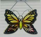 AMIA Butterfly Suncatcher Handpainted 625Tall x 5Wide