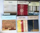 Upholstery Fabric Sample Swatch Books Lot Of 6
