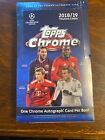 2018-19 Topps Chrome UEFA Champions League Sealed Hobby Box Sancho McKennie Joao