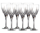 SET OF 6 ROYAL DOULTON BELVEDERE Wine Glasses ITALY  Set of 6 RARE NIB