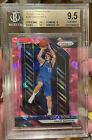 LUKA DONCIC 2018 PANINI PRIZM 280 PINK ICE REFRACTOR ROOKIE RC BGS 9.5 PSA10🔥