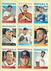 40 card lot of 2013 Topps Heritage short prints SPs - over 1 2 the set!!